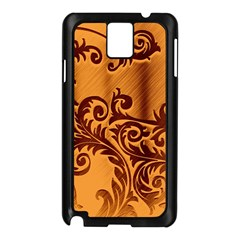 Floral Vintage  Samsung Galaxy Note 3 N9005 Case (black) by Onesevenart