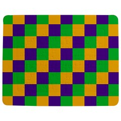 Mardi Gras Checkers Jigsaw Puzzle Photo Stand (rectangular) by PhotoNOLA