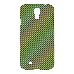 Mardi Gras Checker Boards Samsung Galaxy S4 I9500/i9505 Hardshell Case by PhotoNOLA