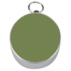 Mardi Gras Checker Boards Silver Compasses by PhotoNOLA