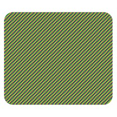 Mardi Gras Checker Boards Double Sided Flano Blanket (small)  by PhotoNOLA