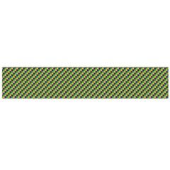 Mardi Gras Checker Boards Flano Scarf (large) by PhotoNOLA