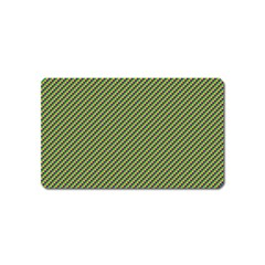 Mardi Gras Checker Boards Magnet (name Card) by PhotoNOLA