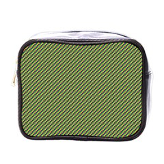 Mardi Gras Checker Boards Mini Toiletries Bags by PhotoNOLA