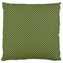 Mardi Gras Checker Boards Large Cushion Case (two Sides) by PhotoNOLA