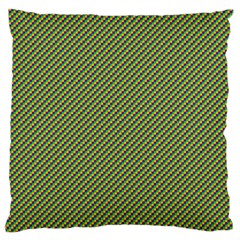 Mardi Gras Checker Boards Large Flano Cushion Case (two Sides) by PhotoNOLA