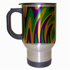 Mardi Gars Travel Mug (silver Gray) by PhotoNOLA