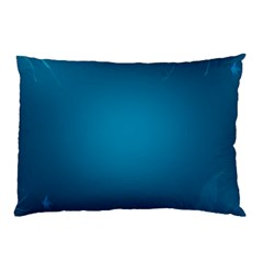Blue Sea World Animals Fish Flower Floral Swim Waves Pillow Case (two Sides) by Alisyart