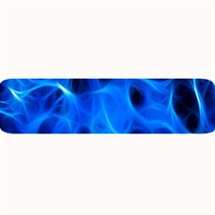 Blue Flame Light Black Large Bar Mats by Alisyart