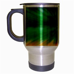 Mardi Gras Tie Die Travel Mug (silver Gray) by PhotoNOLA