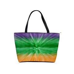 Mardi Gras Tie Die Shoulder Handbags by PhotoNOLA