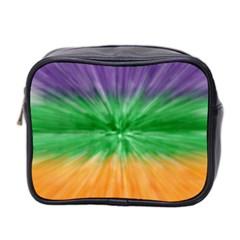 Mardi Gras Tie Die Mini Toiletries Bag 2 Side by PhotoNOLA