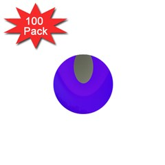 Ceiling Color Magenta Blue Lights Gray Green Purple Oculus Main Moon Light Night Wave 1  Mini Buttons (100 Pack)