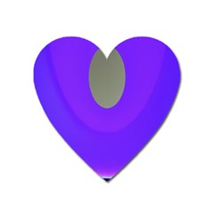 Ceiling Color Magenta Blue Lights Gray Green Purple Oculus Main Moon Light Night Wave Heart Magnet by Alisyart