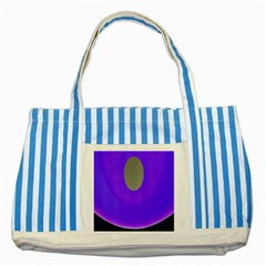 Ceiling Color Magenta Blue Lights Gray Green Purple Oculus Main Moon Light Night Wave Striped Blue Tote Bag by Alisyart