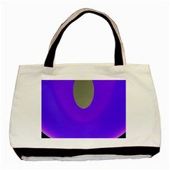 Ceiling Color Magenta Blue Lights Gray Green Purple Oculus Main Moon Light Night Wave Basic Tote Bag (two Sides) by Alisyart