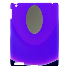 Ceiling Color Magenta Blue Lights Gray Green Purple Oculus Main Moon Light Night Wave Apple Ipad 3/4 Hardshell Case by Alisyart