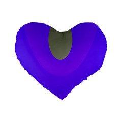 Ceiling Color Magenta Blue Lights Gray Green Purple Oculus Main Moon Light Night Wave Standard 16  Premium Heart Shape Cushions by Alisyart
