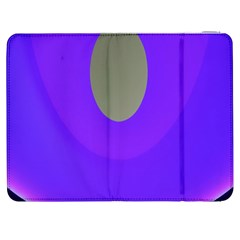 Ceiling Color Magenta Blue Lights Gray Green Purple Oculus Main Moon Light Night Wave Samsung Galaxy Tab 7  P1000 Flip Case by Alisyart