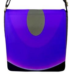 Ceiling Color Magenta Blue Lights Gray Green Purple Oculus Main Moon Light Night Wave Flap Messenger Bag (s) by Alisyart