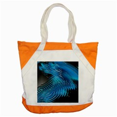 Waves Wave Water Blue Hole Black Accent Tote Bag by Alisyart