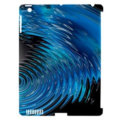 Waves Wave Water Blue Hole Black Apple Ipad 3/4 Hardshell Case (compatible With Smart Cover) by Alisyart
