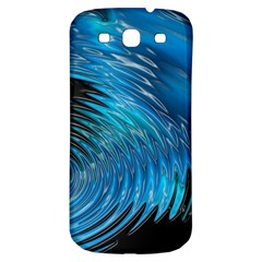 Waves Wave Water Blue Hole Black Samsung Galaxy S3 S Iii Classic Hardshell Back Case by Alisyart