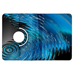 Waves Wave Water Blue Hole Black Kindle Fire Hdx Flip 360 Case by Alisyart
