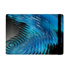 Waves Wave Water Blue Hole Black Ipad Mini 2 Flip Cases by Alisyart
