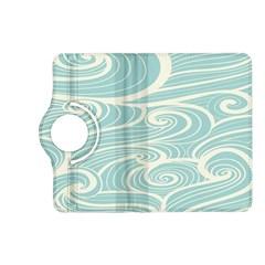 Blue Waves Kindle Fire Hd (2013) Flip 360 Case by Alisyart