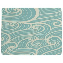 Blue Waves Jigsaw Puzzle Photo Stand (rectangular) by Alisyart