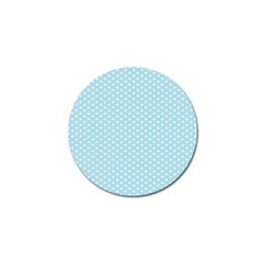 Circle Blue White Golf Ball Marker (4 Pack) by Alisyart