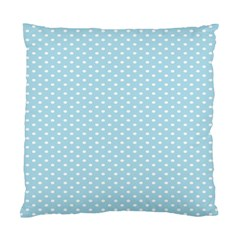 Circle Blue White Standard Cushion Case (one Side) by Alisyart