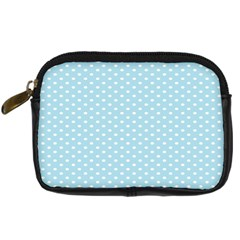 Circle Blue White Digital Camera Cases by Alisyart