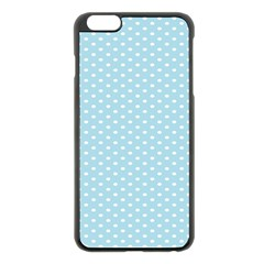 Circle Blue White Apple Iphone 6 Plus/6s Plus Black Enamel Case by Alisyart