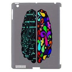 Emotional Rational Brain Apple Ipad 3/4 Hardshell Case (compatible With Smart Cover) by Alisyart