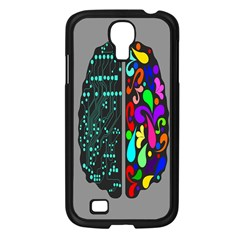 Emotional Rational Brain Samsung Galaxy S4 I9500/ I9505 Case (black) by Alisyart