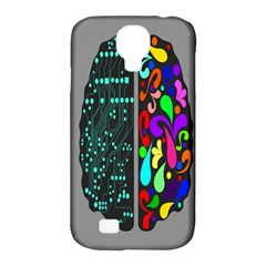 Emotional Rational Brain Samsung Galaxy S4 Classic Hardshell Case (pc+silicone) by Alisyart