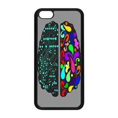 Emotional Rational Brain Apple Iphone 5c Seamless Case (black) by Alisyart