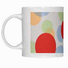 Contrast Analogous Colour Circle Red Green Orange White Mugs by Alisyart