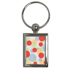 Contrast Analogous Colour Circle Red Green Orange Key Chains (rectangle)  by Alisyart