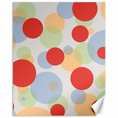 Contrast Analogous Colour Circle Red Green Orange Canvas 11  X 14   by Alisyart