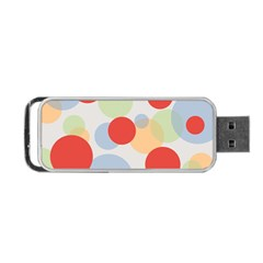 Contrast Analogous Colour Circle Red Green Orange Portable Usb Flash (two Sides) by Alisyart