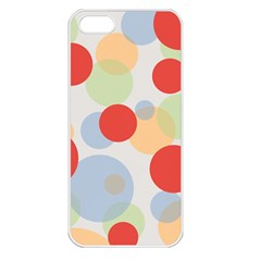 Contrast Analogous Colour Circle Red Green Orange Apple Iphone 5 Seamless Case (white) by Alisyart