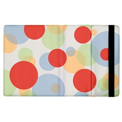 Contrast Analogous Colour Circle Red Green Orange Apple Ipad 2 Flip Case by Alisyart