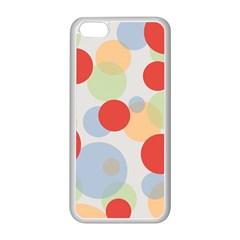 Contrast Analogous Colour Circle Red Green Orange Apple Iphone 5c Seamless Case (white) by Alisyart