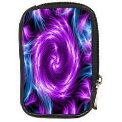 Colors Light Blue Purple Hole Space Galaxy Compact Camera Cases by Alisyart
