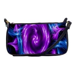 Colors Light Blue Purple Hole Space Galaxy Shoulder Clutch Bags by Alisyart