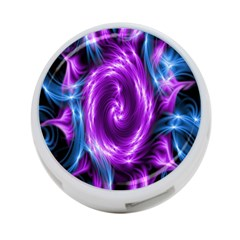 Colors Light Blue Purple Hole Space Galaxy 4 Port Usb Hub (one Side) by Alisyart