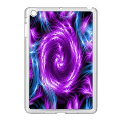 Colors Light Blue Purple Hole Space Galaxy Apple Ipad Mini Case (white) by Alisyart